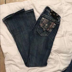 Miss Me Bootcut Jeans Size 14